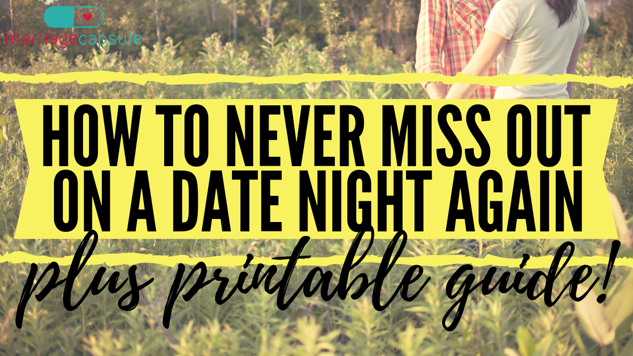Video: How to never miss out on a date night again!